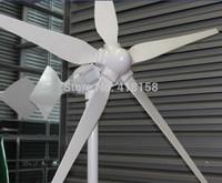 Wind Turbine Generator 1kw Low Wind Type 24V/48V 1000W alternative green energy power supplier low start speed 3 year warranty