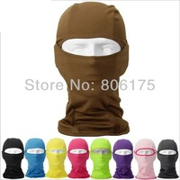 Free shipping Outdoor riding bike face mask tactical cs breathable speed dry windproof worm camouflage head cover cap BALACLAVA