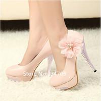 Free shipping,Hot sell!fashion high heel shoes quality dress ladies fashion lady pumps women's sexy heels wedding shoe size 4-8