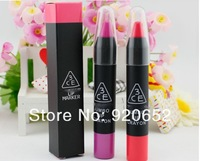 New arrival Korean Style 3CE Colorful Lacquer Nutritious Gloss Brand Lipstick Mositurize Cosmetic 7 COLORS Matte Lipstick 8488#