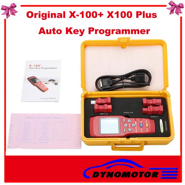 [ DynoMotor ] 2013 mais novo Professional X -100 + X100 PLUS Auto-chave Programador X 100 + Online Update(China (Mainland))