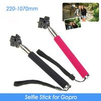 GoPro Monopod For GoPro HD Hero,Hero2,Hero3, Adjustable Handheld Tripod Length 220mm - 105cm