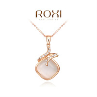 ROXI fashion heart necklace/Chrismas/Birthdays gifts.clear Austrian crystal,fashion Environmental  Jewelry,2030225460