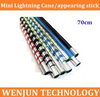 NEW Arrived Mini Lightning Cane 70cm  appearing stick,the best gift for children  50PCS