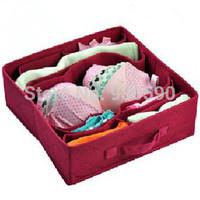 High quality Eco-friendly foldable Non-Woven Underwear Towel Socks Jewelry Sundries Storage box Organizer