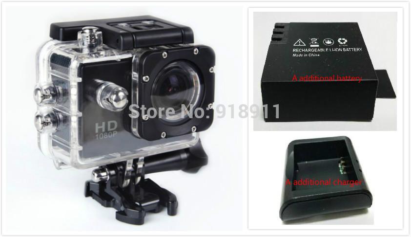 Action Camera Diving Full HD DVR DV SJ4000 gopro 30M Waterproof extreme Sport Helmet 1920*1080P Gopro Camcorder DVR Sports DV(China (Mainland))
