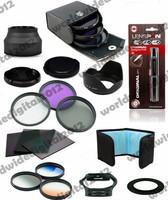 67MM UV CPL Filter Kit + Lens Hood + Cleaning Kit  + Graduated Filter Set for Canon T4i T3i 7D 50D 60D 18-135mm 17-85mm F10