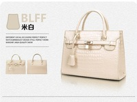 2014 Spring Lady Crocodile PU Leather Messenger Bags Shoulder Bags Women's handbag with Channel Styles