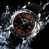 Luxury Brand Watch New Design Men Watch Silicone Strap Outdoor Men's Sport Watch Military Watches
