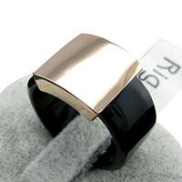 champagne gold rings for men black,IR-003 16,black men ring