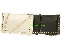 Mng women's cross-body handbag women's handbag rivet bag messenger bag shoulder bag chain bag