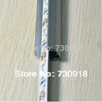 """5630 led rigid bar 1M 72 LED 12V 20w/m 2000lm Hard Strip Bar Light """" U """" Style Aluminium Shell CE RoHS free shipping 10pcs/lot"""