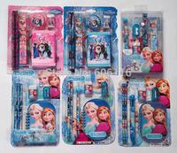 Wholesale(5sets/lot)Children frozen/ sofia / Despicable Me Minions Stationery set / study products/ 8 designs available