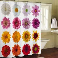 Bathroom products Zen stones bathroom curtain shower curtain terylene bath curtain 180x200cm ,screen shower,curtain bath