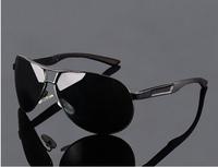 2014 Men's 2014 New Polarized Sunglasses Pilot Sun Glasses High Quality Driving Glasses UV400  oculos de sol masculino ESCC002