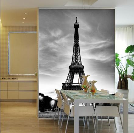 fototapete klassische mode 3d wandbild tapete sofa schwarz und weiß tapetenkleister