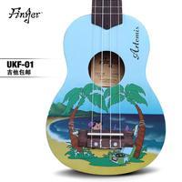 Finger monoboard guitar small guitar 23 26 lilija ukulele