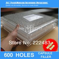000#,00#,0#,1#,2# 600 Holes Capsule Filling Machine, Capsule Filling Board   With Tamping Tool