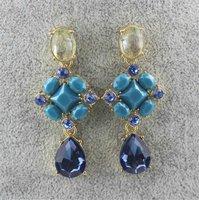 Free shipping! Fashion women stud earrings, Water drop decorate earrings for women, Excellent Gift!