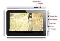 NEW 9 Inch Tablet PC: Allwinner A23, Action ATM7021/ATM7029 Quad core 1.0GHz,Android 4.4 512MB/8G WIFI Dual Cameras OTG