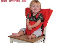 Retail baby infant safety seat belt, dining chair seat belt 1pcs/lot Free shipping Portable chair bag