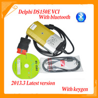 New Arrival 2013.3 DS150E VCI TCS DS150 Diagnostic 3 IN 1 For Cars/Trucks/Generic Without Plastic Box with bluetooth