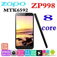 in stock 	original zopo 998 zp998 Smart Phone Octa Core Android 2GB 16GB - LunarSources  mtk6592 dual sim card