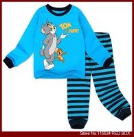 2013 spring and autumn child sleepwear lounge 100% male child cotton long johns long johns set C0029