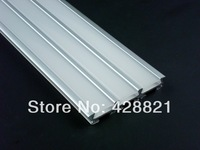 10m/Lot Free shipping 5609 aluminum profile for width up to 13mm flexible and rigid  led strips 3 in 1 led profile floor lights
