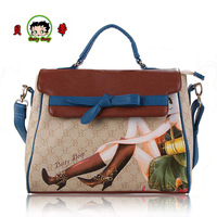 Autumn and winter new arrival women's handbag BETTY BOOP betty handbag messenger bag a3120-1