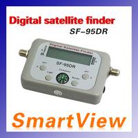 Original Satellite Signal Finder SF-95DR Satfinder Find Meter LCD DIRECTV Dish FTA Digital For TV Signal Finder free shipping