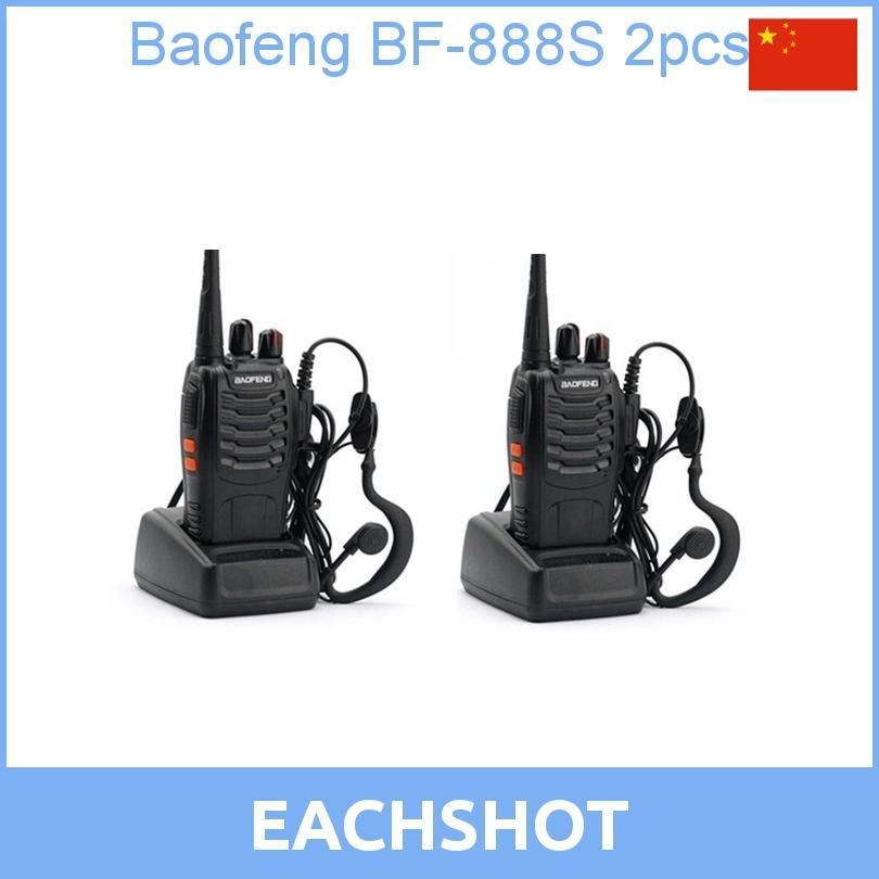 2 pcs 2013 new free shipping Cheap Walkie Talkie BF-888s 5W 16CH UHF 400-470MHz BF-888S Interphone BaoFeng 888S Two-Way Radio(China (Mainland))