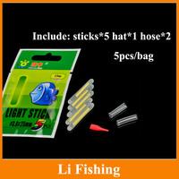 fishing tackle 40pcs 2.9mm*25mmnight fishing float bobber glow stick light stick luminous stick fishing float