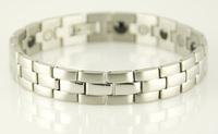 "FREE SHIPPING 316L Stainless Steel Bracelet Magnetic Bracelet Fashion Bracelet SS001B 8.5"""