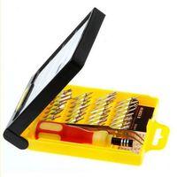 32 in 1 set Micro Pocket Precision Screwdriver Kit Magnetic Screwdriver cell phone tool repair box 83653