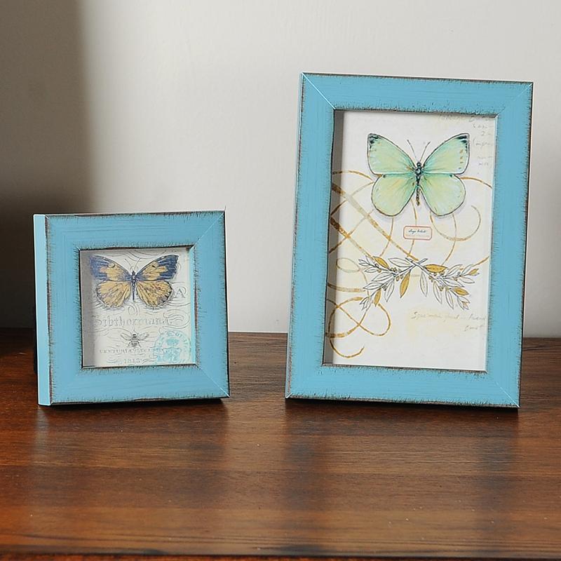 Blue Antique Picture Frames Antique Picture Frame