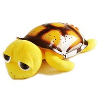 MP3 Musical Big Eyes Turtle Night Light Stars Constellation Lamp Toys Projector 4 Color Pink Yellow Green Blue Gift for Kids