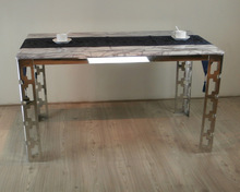 wholesale stainless dining table