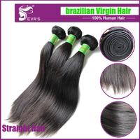 6A Unprocessed Virgin Brazilian Hair Straight Free Shipping, Queen Hair Weave, Brazilian Virgin Hair Straight 3pcs Lot