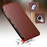 Hot Selling Luxury Vintage Real Leather Case for Samsung Galaxy S4 Mini I9190 Korea Style Flip Mobile Phone Bag Cover AAA03474