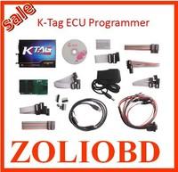 Top quality newest version 2014 sale auto diagnostic K-TAG ecu programming tool KTAG k tag ecu programmer DHL free in stock