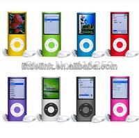"""free shipping 1.8"""" LCD 4th Digita MP3 MP4 Player Video FM Radio Picture E-Book for 2GB 4GB 8GB 16GB SD TF memory Card"""