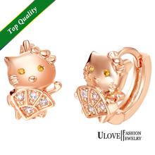 cat earrings silver promotion