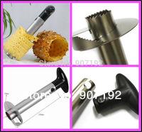 72pcs/lot Fruit Pineapple Corer Slicer Peeler Cutter Parer Knife Kitchen Tool