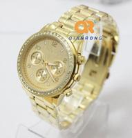 Hot sale Brand Japan Movement Stainless Steel Crystal Watch Men Women Ladies Fashion Dress Quartz Wrist Watch M-2