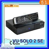 Mini vu solo 2 se twin tuner decoder dvb-s2 tuner STB vu solo2 se hd Linux OS Digital satellite tv receiver DHL free shipping