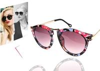 Fashion Summer Sun Glasses Coating Sunglass Gafas De Sol Cat Eye Sunglasses Women Brand Designer Vintage Oculos Feminin 32210