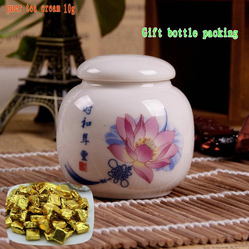 pu136 Tea cream PU er tea health puerh pu er tea premium essence 10g gift bottle