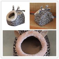 Animal World kennel pet nest washable dog house pet supplies Teddy doghouse doghouse deer leopard shape