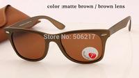 2015 new best selling Unisex brand name polarized wayfarer liteforce sunglasses 4195 brown polarized 52mm in original case